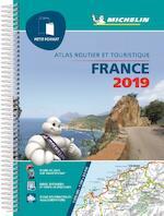 ATLAS MICHELIN FRANCE (PETIT FORMAT) 2019 (ISBN 9782067235946)