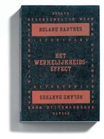 Het werkelijkheidseffect - Roland Barthes (ISBN 9789065541239)