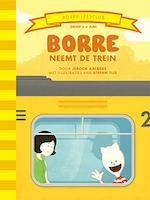 Borre neemt de trein - Jeroen Aalbers (ISBN 9789089223142)