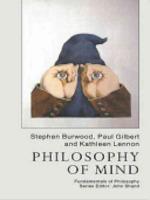 Philosophy of Mind - Stephen Burwood, Paul Gilbert, Kathleen Lennon (ISBN 9781857285918)