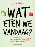 Wat eten we vandaag? - Sylvia Gabet (ISBN 9789048307272)
