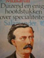 Duizend en enige hoofdstukken over specialiteiten - Multatuli (ISBN 9789021495262)