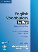 English Vocabulary in Use Upper-intermediate with Answers an - Michael Mccarthy (ISBN 9781107600942)