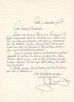 Maurice Gilliams aan Mevr. Roelants 9 dec. 1966 - GILLIAMS, Maurice