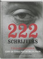 222 Schrijvers - E. Posthuma De Boer, Amp, T. Posthuma De Boer (ISBN 9789059370906)