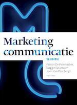 Marketingcommunicatie, 5e editie met MyLab NL toegangscode - Patrick De Pelsmacker, Maggie Geuens, Joeri Van Den Bergh (ISBN 9789043029315)