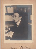 Andre Baillon - originele portretfoto - BAILLON, André