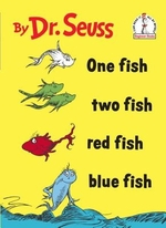 One fish, two fish, red fish, blue fish - Seuss (ISBN 9780394800134)