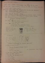 Hugo CLAUS – 1962. Tekenschrift (Dagboeknotities)