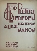 Zes Liederen op teksten van Alice Nahon - Flor Peeters, Alice Nahon