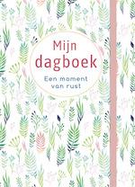 Mijn dagboek - Een moment van rust (pastel foraal) (ISBN 9789044752960)