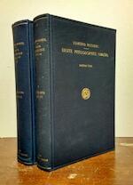 Erste Philosophie (1923/24) in 2 volumes. - E. Husserl
