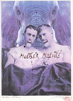 Patrick Conrad - 'Mother Nature' - Originele collage - CONRAD, Patrick