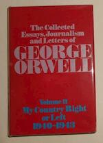 The Collected Essays, Journalism and Letters of George Orwell - George Orwell (ISBN 9780436350177)