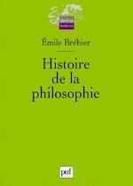 Histoire de la philosophie - Emile Bréhier (ISBN 9782130543961)