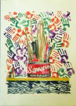 The handprints of Jasper Johns