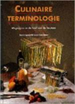 Culinaire terminologie - Ger Boer, Joost van der Krogt (ISBN 9789061138464)