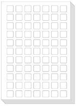 Pictoagenda blanco stickervellen (25 stuks) (ISBN 9789492711106)