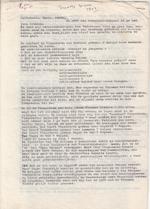 Freddy de Vree - Hedendaagse Vlaamse letteren - origineel typoscript