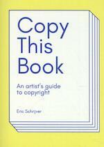 Copy this Book' - Eric Schrijver (ISBN 9789491677939)