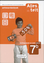 Alles telt / Leerlingenboek en werkschrift 7b / deel Antwoordenboek (ISBN 9789006632866)