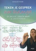 Teken je gesprek over faalangst - Adinda de Vreede (ISBN 9789077671863)