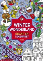 Winter wonderland kleur- en tekenpret