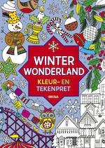 Winter wonderland kleur- en tekenpret - Unknown (ISBN 9789044732214)