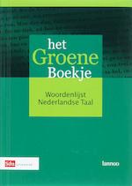 Het Groene Boekje - Nederlandse Taalunie (ISBN 9789012105903)