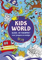 Kids World kleur- en tekenpret (ISBN 9789044735918)