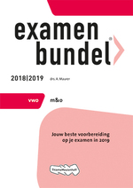 Examenbundel vwo Management & Organisatie 2018/2019