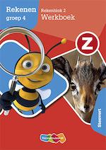 Z-Rekenen Rekenblok 2 vertrouwd Werkboek Groep 4