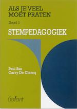 Als je veel moet praten / 1 Stempedagogiek - P. Sas (ISBN 9789053505229)