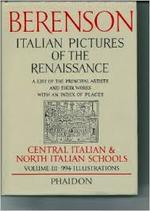 Italian Pictures of the Renaissance: Central Italian and North Italian Schools, Vol. 3