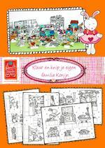 Kleur en knip je eigen familie Konijn (ISBN 9789082658040)