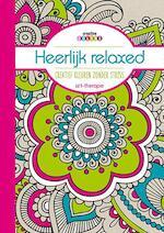 Heerlijk relaxed creatief kleuren zonder stress art-therapie