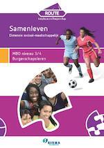 MBO niveau 3/4 Burgerschapsleren - Klaas van den Herik, Kars Boelens (ISBN 9789087717681)