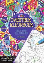 Overtrekkleurboek, kleuren voor volwassenen
