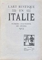 L'art rustique en Italie - Charles EtAl Holme