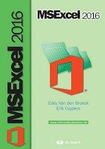 MSExcel 2016 - Eddy Van Den Broeck, Erik Cuypers (ISBN 9789045557151)