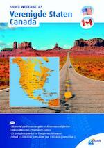 Wegenatlas Verenigde Staten/ Canada (ISBN 9789018043834)