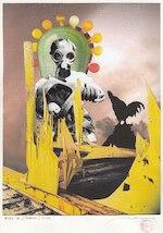 Patrick Conrad - 'War is (never) over' - Originele collage - CONRAD, Patrick