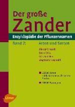 Der große Zander. Enzyklopädie der Pflanzennamen - Walter Erhardt (ISBN 9783800154067)
