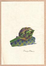 Van de zinnen en de vruchten [artisjok] - CLAUS, Hugo