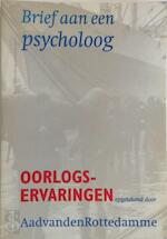 Brief aan een psycholoog - A. van den Rotterdamme (ISBN 9789057500558)