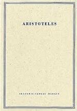 Werke in deutscher Übersetzung. Begründet v. Ernst Grumach. Bd 12/3: Über den Himmel.[ - Aristoteles