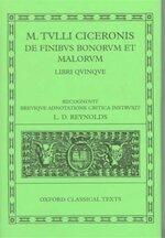 De Finibus Bonorum Et Malorumlibri Quinque - Marcus Tullius Cicero, L. D. Reynolds (ISBN 9780198146704)