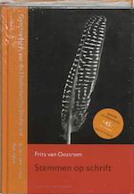Stemmen op schrift - Frits van Oostrom (ISBN 9789035129443)