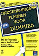 Ondernemingsplannen voor dummies - Paul Tiffany, Steven Peterson, Richard Kruis (ISBN 9789067899765)