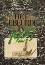 Het gebeurde in 1925 - Leonard de Vries (ISBN 9789022976340)